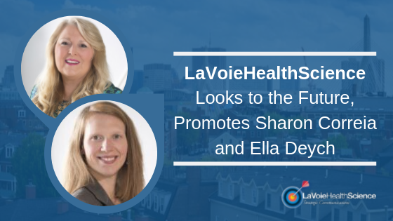 LaVoieHealthScience Looks to the Future, Promotes Sharon Correia and Ella Deych