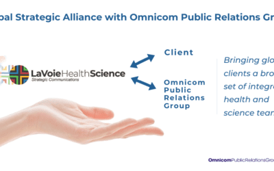 Omnicom Public Relations Group Forms Strategic Alliance with LaVoieHealthScience