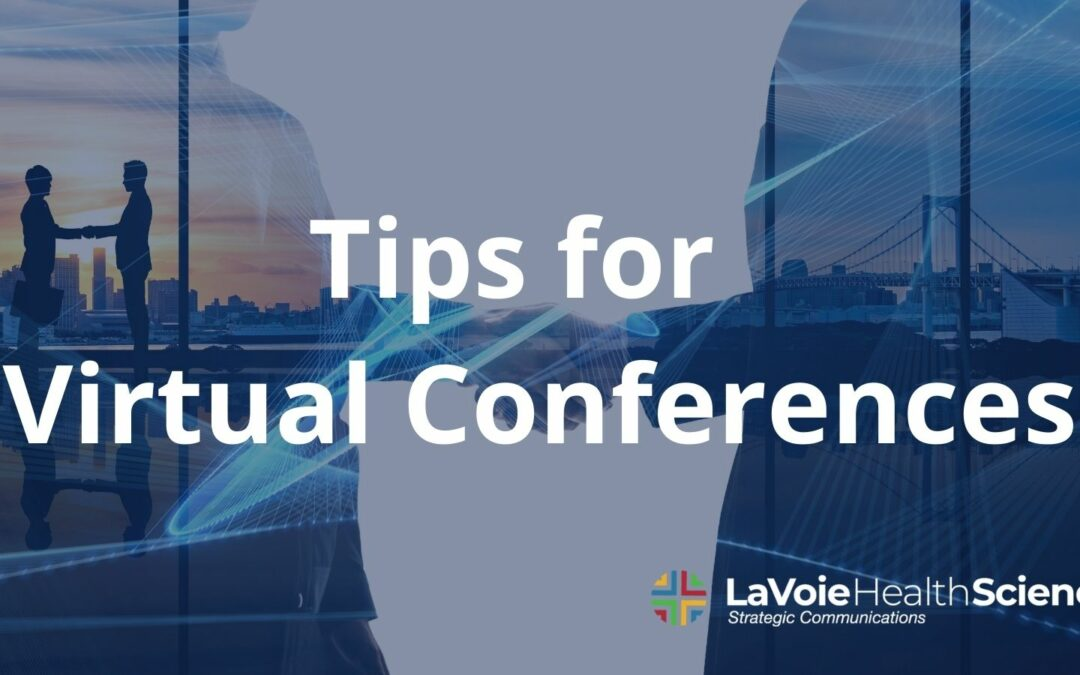 Tips for Virtual Conferences